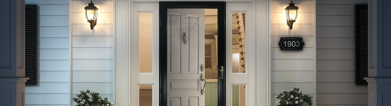 storm doors installation & replacement - exterior doors vaughan