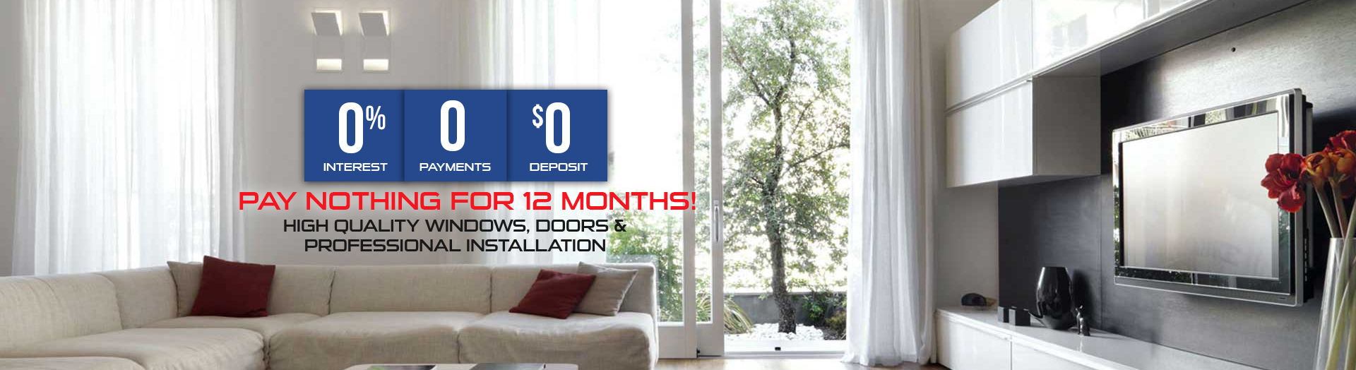 0 interest 0 payments 0 deposit promotion window replacement markham