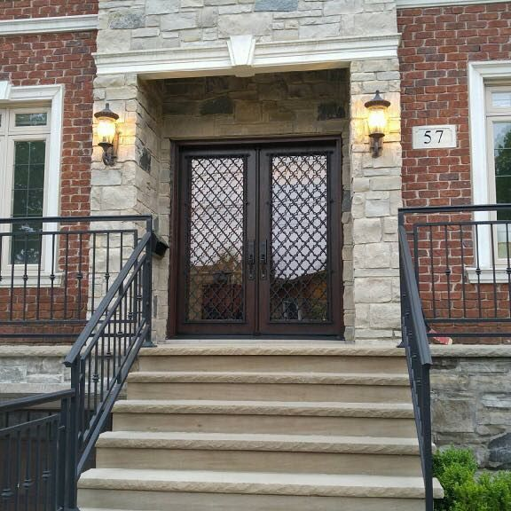 classic double door - front door replacement by canpro aurora