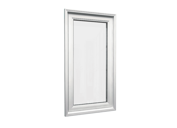 Casement window closed