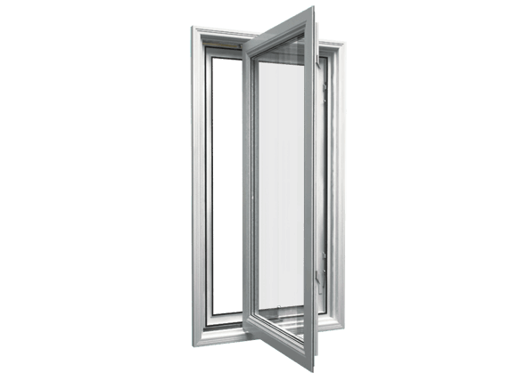 Casement window open