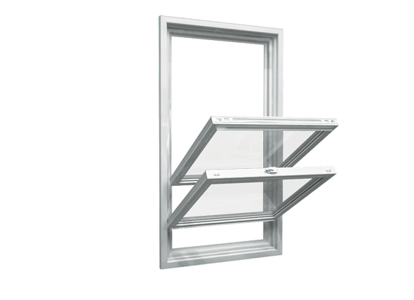 double hung window open