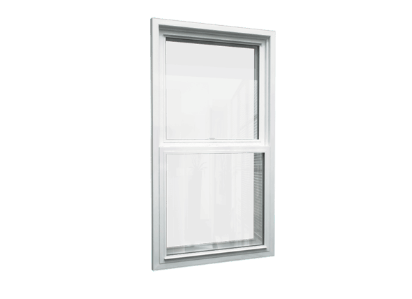 single hung window closed