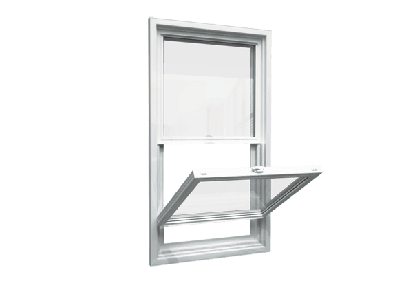 single hung window open